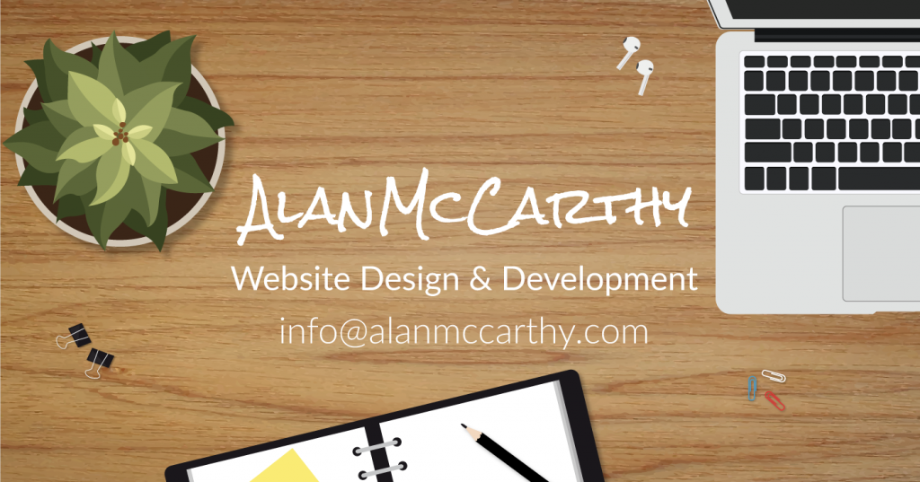 Alan McCarthy Website Design & Development
